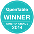toptable diners' choice logo